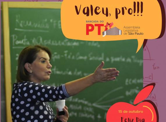Você conhece a história da deputada professora Bebel?