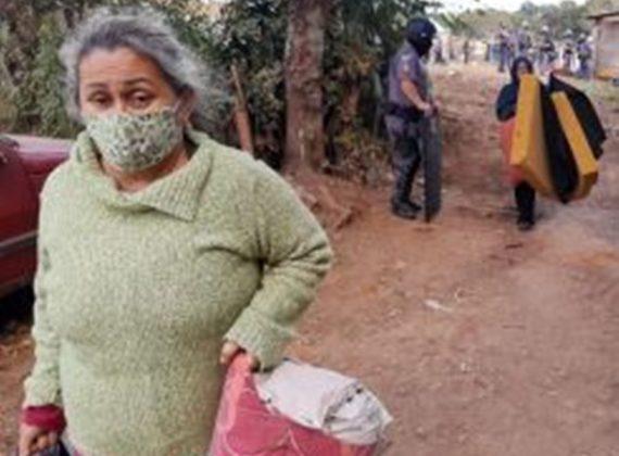 Petistas condenam veto a PL que suspende despejos na pandemia