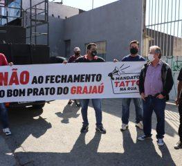 População não quer o fechamento do Bom Prato do Grajaú
