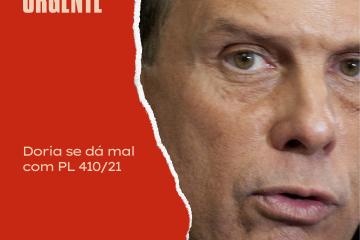 Juíza suspende regime de urgência de PL de Doria