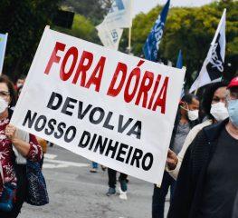 SERVIDORES ESTADUAIS SOFREM MAIS UM ATAQUE DE JOÃO DORIA