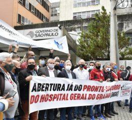 Deputados fazem fiscalização pela reabertura de PS's da zona sul